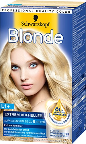 Blonde L1 plus Extrem Aufheller, 3er Pack (3 x 143 ml)