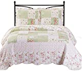King Size Comforter Sets 110 X 96 Upland King/ Cal King Size, Over-Sized Quilt 3pc set 110