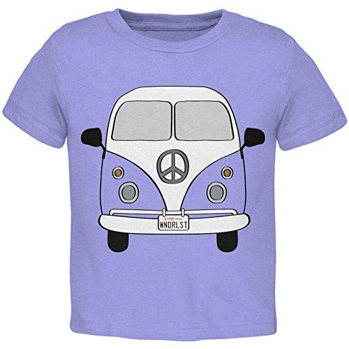 [Halloween Travel Bus Costume Camper Wanderlust Toddler T Shirt Periwinkle 2T] (Periwinkle Costume Toddler)