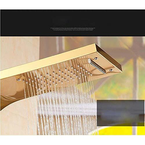 HYY@ 304 stainless steel shower panel wall mounted shower set booster shower Kit , b 80%OFF