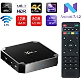 ESHOWEE X96 Mini Android 7.1 TV Box Amlogic S905W Quad-core 64 Bit DDR3 1GB 8GB 4K UHD WiFi & LAN VP9 DLNA H.265