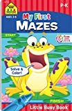 Best School Zone Coloring Books For Children - Little Busy Books My First Mazes Review