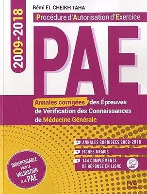 [PAE]:Annales de médecine générale PAE 2009-2018 pdf gratuit  - Page 5 51GSLnOVigL._AC_SY400_