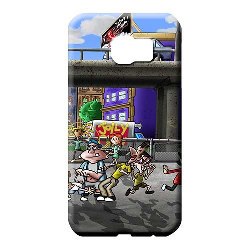 (Phone Hard Cases Fashion Phone Carrying Skins New Covers Hey Arnold Samsung Galaxy S6 Edge Plus+)