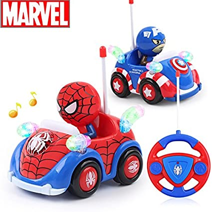 toy play game disney 2017 new hot marvel spiderman captain xmas toys music