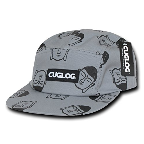 Racer Cap (CUGLOG 5 Panel Buddha Racer Cap, Grey)