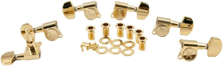 Gold Contemporary Diecast Kluson Machine Head 3+3