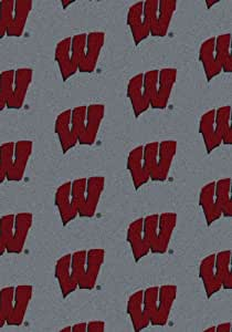 Milliken 4000018814 Wisconsin College Repeating Area Rug, 310 x 54