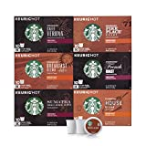 Starbucks Black Coffee K-Cup Variety Pack for Keurig Brewers, 10 Count (Pack Of 6)
