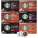 6 Pk Starbucks Black Coffee Variety Pack 10 Count