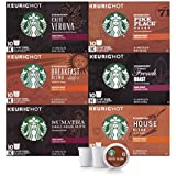 Starbucks Black Coffee K-Cup Variety Pack for Keurig Brewers, 10 Count ( Pack of 6 )