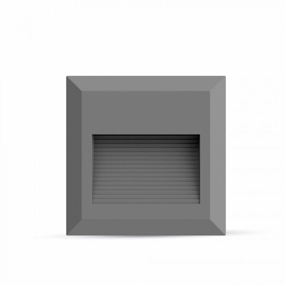 Faretto Led segnapasso quadrato bianco 2W da esterno V-TAC VT-1152