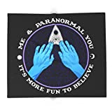 Society6 Me & Paranormal You - James Roper Design - Ouija (white Lettering) 68'' x 80'' Blanket