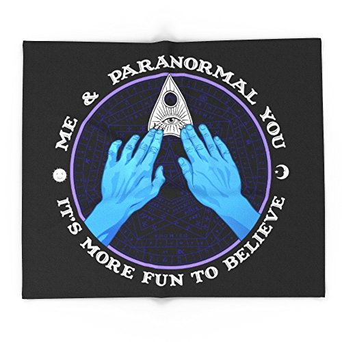 Society6 Me & Paranormal You - James Roper Design - Ouija (white Lettering) 68'' x 80'' Blanket by Society6