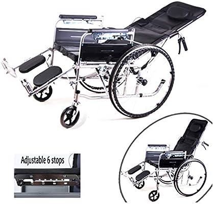 Silla De Ruedas Para personas mayores y discapacitadas Respaldo ...