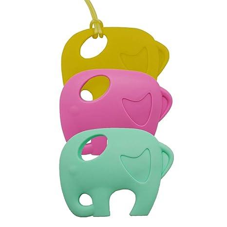 Alivio del dolor de la dentición juguete BPA silicona libre ...