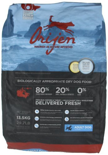 Orijen Adult Dry Dog Food (29.7 lb)