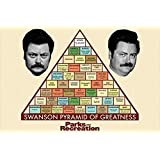 Amazon Price History for:Buyartforless Parks and Recreation - Swanson Pyramid of Greatness 36x24 TV Art Print Poster Nick Offerman