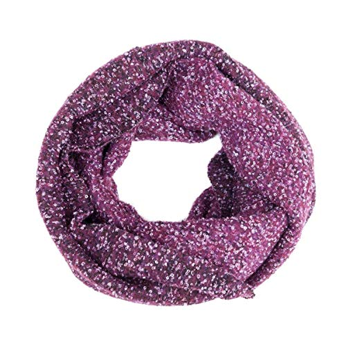 Soft Scarfs, Circle Scarf, Head Scarf, Infinity Scarfs, Loop, Snood, Hood, Reversible, Women, Girl, Unisex, Wool, Purple, Lilac, White, Charcoal, One size, Italian Style, Handmade in Florence, Italy