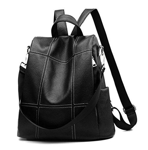 function 33 Casual Multi Soft Fashion Backpack Leather Women's pu Handbag Bag 32cm 16 wHIqERv