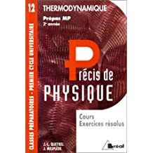 precis 12 thermodynamique mp