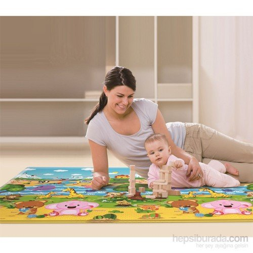 Serra Baby Comflor Pingko And Friends Game Mat 210x140cm, thickness 13mm by Serra Baby