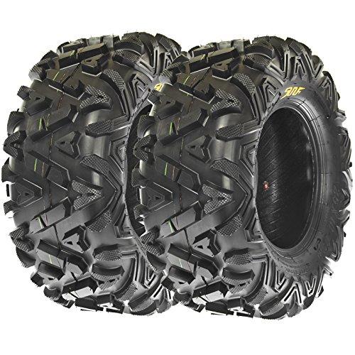 Pair SunF Tires 25x11 10 25x11x10
