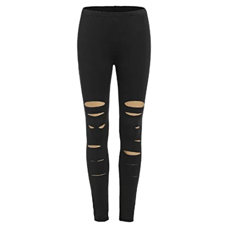 Pantalones vaqueros mujer slim fit,Pantalones mujer rotos ...