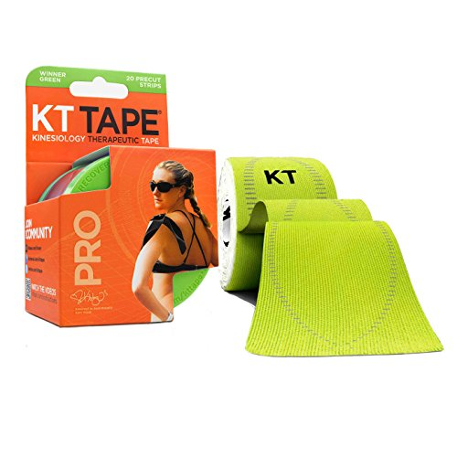 kt-tape-pro-synthetic-elastic-kinesiology-20-pre-cut-10-inch-strips-therapeutic-tape-winner-green