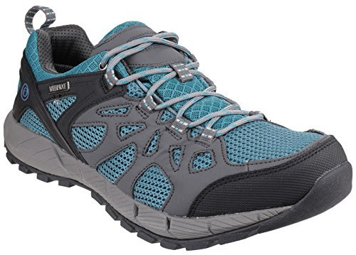 Cotswold Standish Lace Up Hiking Shoe Hiking Shoes (All) GRY/AQ 46 46 by Cotswold