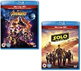 3D Blu-ray Combo Pack: Avengers Infinity War + Solo [Region-Free]