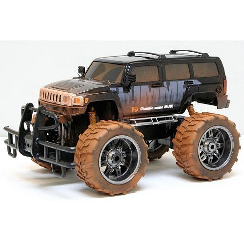1:10 Scale Radio Control Vehicle 9.6V Mud Slinger Hummer H3