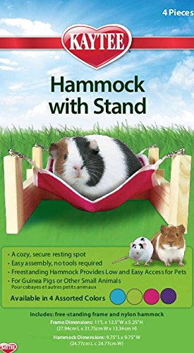 Kaytee Guinea Pig Hammock with Stand