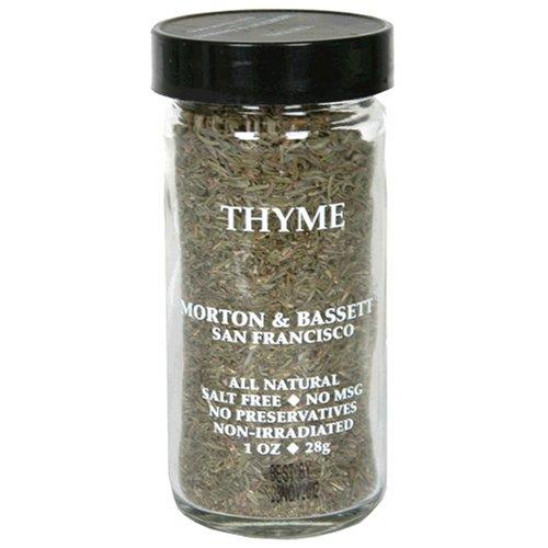 Morton & Bassett Thyme, 1-Ounce Jars (Pack of 3)