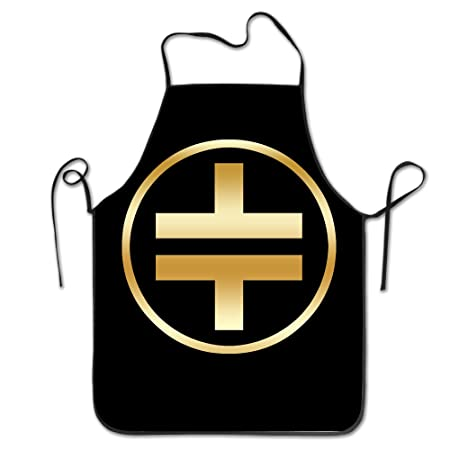Marilyn Manson Rock Band Gold Logo Kitchen Baking Apron Amazon