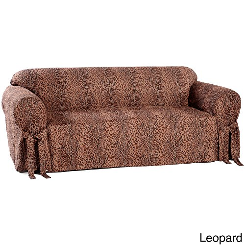 Animal Print Loveseat Slipcover Micro Suede to Fit Your Loveseat, Sofa or Couch. Chabby and Chic and Exotic. Zebra Print Furniture Has Always Been Fashionable. This Slipcover is Machine Washable - Slipcover Zebra