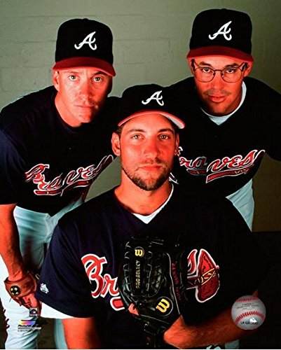 Tom Glavine, John Smoltz, Greg Maddux Atlanta Braves MLB Photo (Size: 8