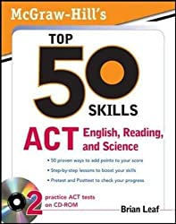 McGraw-Hill's Top 50 Skills for a Top Score: ACT English, Reading, and Science
