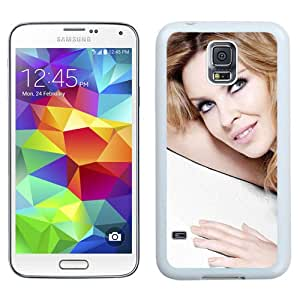 Beautiful Designed Cover Case With Kylie Minogue Girl Smile Dress Hand (2) For Samsung Galaxy S5 I9600 G900a G900v G900p G900t G900w Phone Case