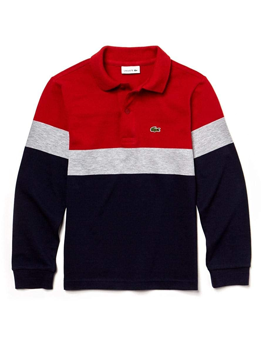 store amazing selection incredible prices Lacoste - PJ9846 - Polo Manches Longues Enfant: Amazon.fr ...