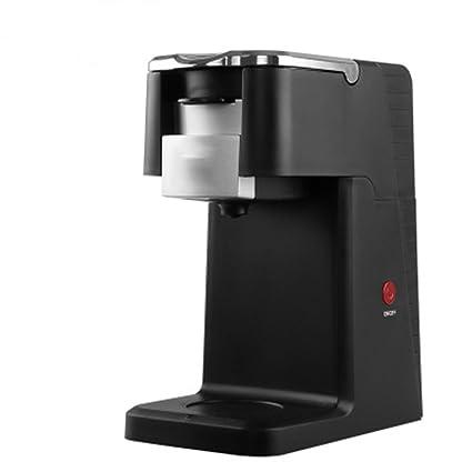 Máquina de café con Cápsula Máquina de café con Goteo automática Black