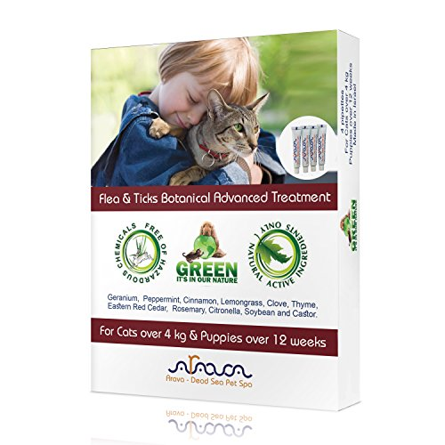 arava-flea-and-tick-control-drops-treatment-for-cats-and-puppies-safe-for-kids-4-pack-botanical-drop