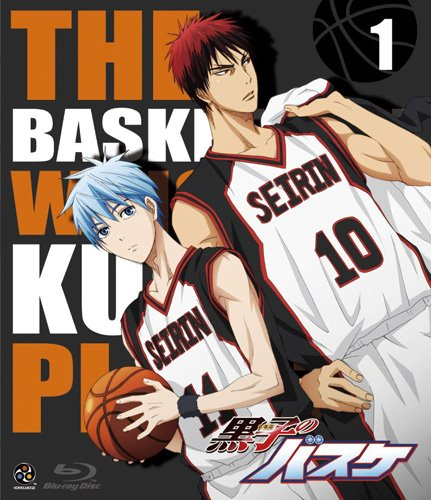 黒子のバスケ第1期:2012年4月7日~9月22日(25話+OVA)