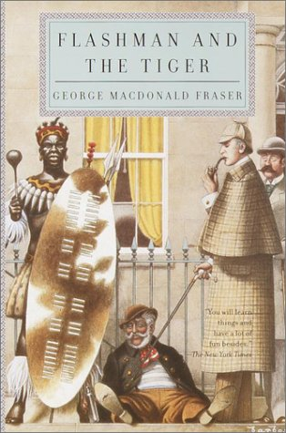 book cover of Flashman and the Tiger