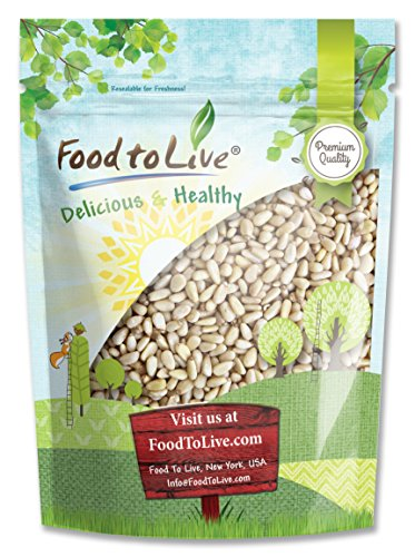 Pine Nuts/Pignolias by Food to Live (Bulk, Kosher, Raw, Unsalted) - 8 Ounces ()