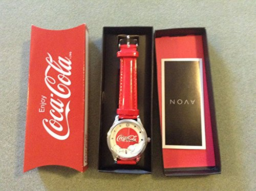Avon Bear - Avon Coca-Cola Christmas Bear Watch