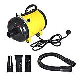 Pevor Dog Pet Grooming Hair Dryer - 2400W Adjustable 2-Speed Grooming Pet Hair Dryer / Heater / Blaster / Air Blower For Dog, Cat, Farm Animal