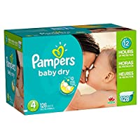 Pampers Baby Dry Diapers, Economy Pack
