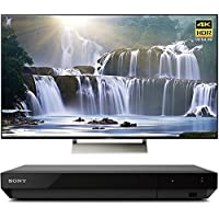 Sony XBR55X930E 55 16:9 4K HDR Edge Lit LED UHD LCD Android TV with Google Home Compatibility 3840x2160 & Sony UBPX700 Ultra HD BluRay Player with Dolby Vision