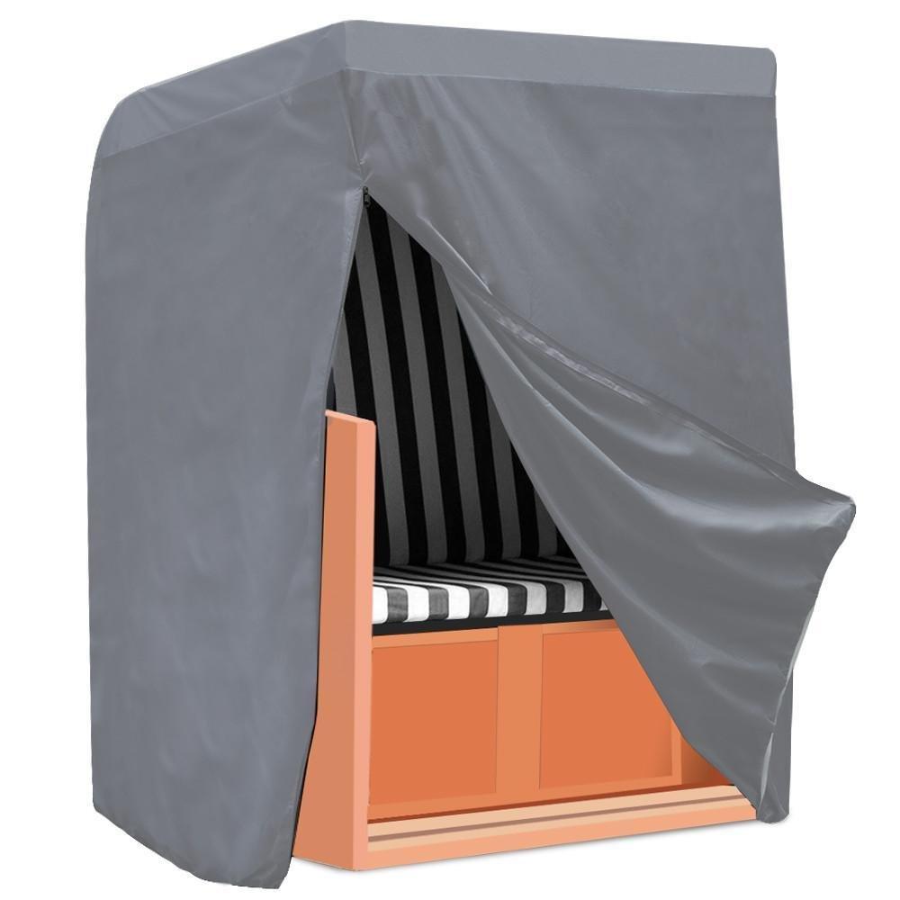 Yahee Copertura Telo Impermeabile per mobili da Giardino Esterno sedie a Sdraio impilabili Armadio (M:135 x 170 x 105 cm)